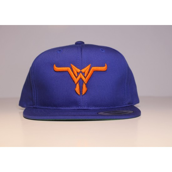 MW Bull Casquette Enfant 2-6 Royal/Orange