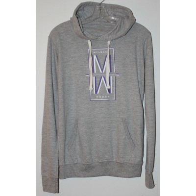 MW Rodeo  Sweat a Capuche Gris Mixte/ Mauve