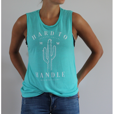 Hard to Handle Camisole - Turquoise